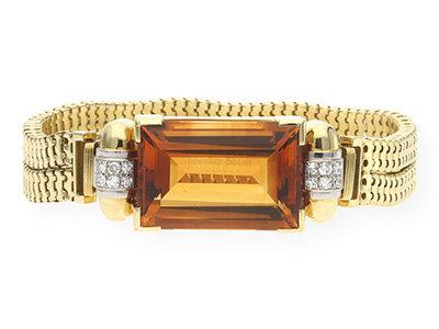 Citrin Armband aus zweiter Hand