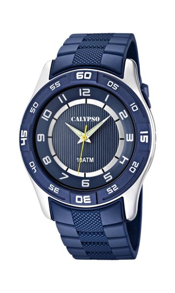 Calypso Herrenarmbanduhr Kunststoff K6062/2 Sport-Klassik