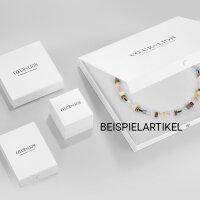 Coeur de Lion Halskette 2838/10-0708 GeoCube blau lila
