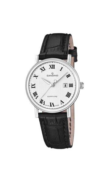 Candino Damen-/Herrenarmbanduhr Classic Timeless C4488/4 Klassik mit Saphirglas 129