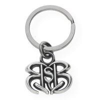 Rock Star Baby Schlüsselanhänger Silber mit...