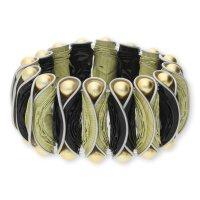 Modern Caps Design MCD01-55-1601 Armband Schwarz/Vanille