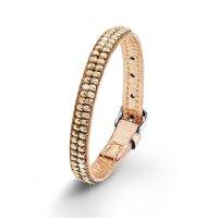 S.Oliver Damen Armband SO1364/01 Edelstahl Leder...