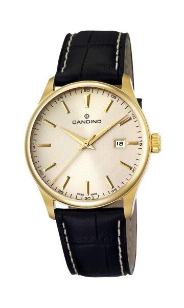 Candino Herrenarmbanduhr Leder Saphirglas C4457/3 Elegant 199
