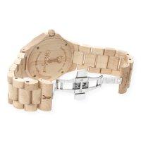 Waidzeit Herrenarmbanduhr Holz STEINBOCK Premium ST01