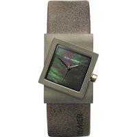 Rolf Cremer Quarz Titan Armbanduhr 492370 Turn Lederband