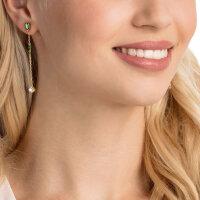 Swarovski Ohrringe 5455522 Oz, weiß, vergoldet