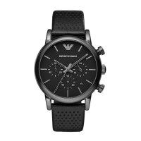Emporio Armani Herrenuhr AR1737 Luigi, Chronograph, schwarz