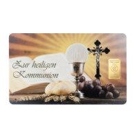 "Goldbarren Geschenkkarte ""Zur heiligen..."