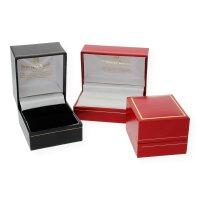 JuwelmaLux Ring 585/000 (14 Karat) Weißgold mit Brillanten 0,105 ct JL12-07-0096 54