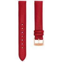 Swarovski Uhrenarmband 5426832 Leder, rot