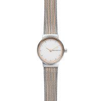 Skagen Damen Uhr SKW2699 Freja, Milanaise Edelstahl, Bicolor