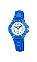 Calypso Uhr für Jungen K5757/4 Kautschuk blau/grün