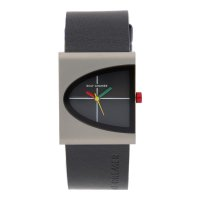 Rolf Cremer Quarz Titan Armbanduhr 505302 Arch Lederband