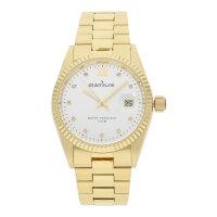 Ratius Damen Uhr 22.43006MG.25 vergoldet mit Schmucksteinen