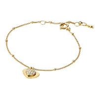 Michael Kors Damen Armband MKC1118AN710 Heart Duo,...