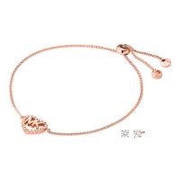Michael Kors Set Halskette und Ohrringe MKC1172AN791...