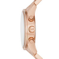 Michael Kors Damen Uhr MK6357 Ritz, Edelstahl rosé...