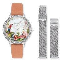 Engelsrufer Damen Uhr ERWO-PARADISE-01 Leder Quarz inkl....