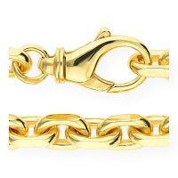 JuwelmaLux Kette Anker 585/000 14 Karat Gold massiv...