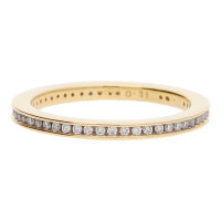 JuwelmaLux Ring 585/000 (14 Karat) Gold mit Brillanten...