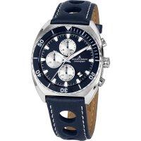 Jacques Lemans Herren Uhr 1-2041C Serie 200 Chronograph...