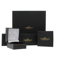 JuwelmaLux Uhrband JL28-09-0043 Edelstahl Zugband Überlänge 20 mm Gelbgold Plattiert