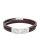 Fossil Herren Armband JF03323040 Multi-Strand Edelstahl, Leder