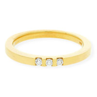 JuwelmaLux Ring 585/000 (14 Karat) Gold mit Brillant...