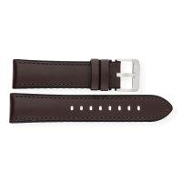 JuwelmaLux Uhrband JL38-10-0134 Leder/Silikon