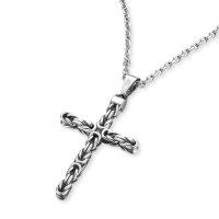 Save Brave Halskette SBN-DAN Edelstahl mit Kreuz...