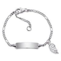 Herzengel ID Armband HEB-ID-WING Sterling Silber,...