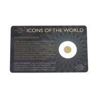 Goldmünze Aztekenkalender 013110 1/200 Unze