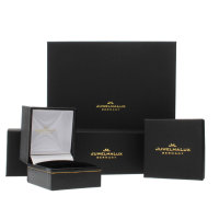 JuwelmaLux Armband 585/000 (14 Karat) Gelbgold mit Amethyst, Citrin,Lemonquarz, Blautopas JL00-03-0061 18 cm