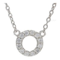 Ratius Collier 925/000 Sterling Silber mit synth Zirkonia...