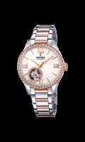 Festina Damen Uhr Automatik mit Schmucksteinen F20487-1