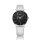 Sternzeit Armbanduhr Sternzeichen Krebs A07360101-002 Leder, weiß metallic