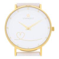 Sternzeit Armbanduhr Herz aus Gold A17360101-003...