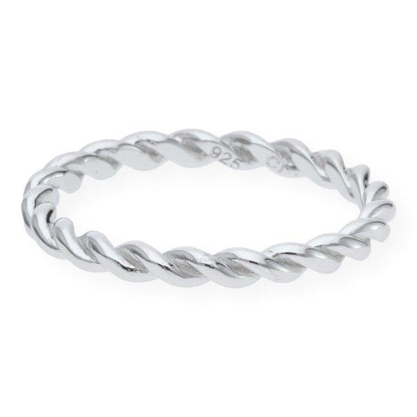 JuwelmaLux Ring 925/000 Sterling Silber rhodiniert JL10-07-1549 50