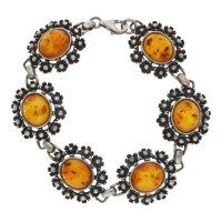 JuwelmaLux Trachten Armband 925/000 Sterling Silber mit...