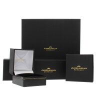 JuwelmaLux Ohrstecker 333/000 (8 Karat) Weißgold mit synth Zirkonia JL39-06-0587