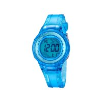Calypso Kinder Uhr K5688/1 Digital, blau transparent
