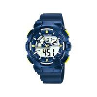 Calypso Kinder Uhr K5771-3 blau, gelb Digital/Analog