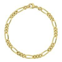 JuwelmaLux Armband 333/000 (8 Karat) Gold Figaro...