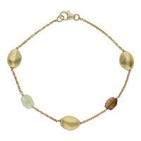 JuwelmaLux Armband 585/000 (14 Karat) Gold mit Turmalin...
