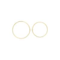 Gerstner Eheringe mit Brillanten 4/27106/4,5 Weißgold & Gelbgold 750/000