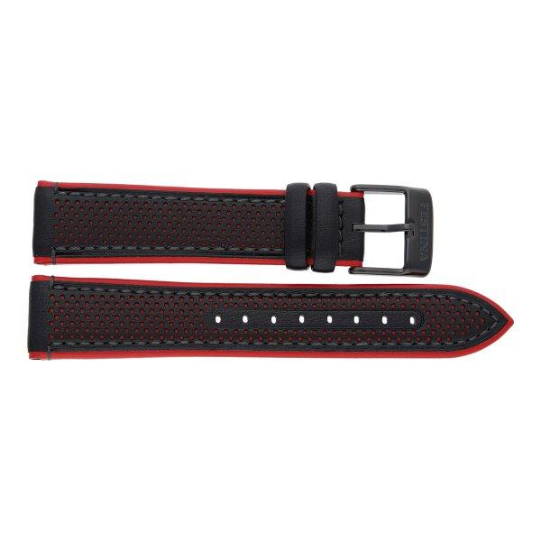 Festina Uhrenband F20359/4LB Leder schwarz und rot