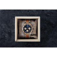 LAiMER Herren Uhr 0167 Marvin Zebranoholz Chronograph