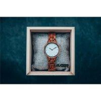 LAiMER Damen Uhr 0070 Marmo Rose Rosenholz mit Marmor Vegan