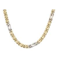 Halskette 585/000 (14 Karat) Gold & Weißgold...